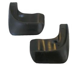 Комплект брызговиков передних для а/м Rexton1004900000360Брызговики изготовлены из высококачественного полимера, уникальный состав брызговиков допускает их эксплуатацию в широком диапазоне температур: - 50°С до + 80°С. Эффективно защищают кузов автомобиля от грязи и воды – формируют аэродинамический поток воздуха, создаваемый при движении вокруг кузова таким образом, чтобы максимально уменьшить образование грязевой измороси, оседающей на автомобиле.Разработаны индивидуально для каждой модели автомобиля, с эстетической точки зрения брызговики являются завершением колесной арки.