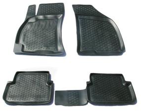 Коврики в салон автомобиля L.Locker, для ZAZ Sens (02-), 4 шт0118020101Коврики L.Locker производятся индивидуально для каждой модели автомобиля из современного и экологически чистого материала. Изделия точно повторяют геометрию пола автомобиля, имеют высокий борт, обладают повышенной износоустойчивостью, антискользящими свойствами, лишены резкого запаха и сохраняют свои потребительские свойства в широком диапазоне температур (от -50°С до +80°С). Рисунок ковриков специально спроектирован для уменьшения скольжения ног водителя и имеет достаточную глубину, препятствующую свободному перемещению жидкости и грязи на поверхности. Одновременно с этим рисунок не создает дискомфорта при вождении автомобиля. Водительский ковер с предустановленными креплениями фиксируется на штатные места в полу салона автомобиля. Новая технология системы креплений герметична, не дает влаге и грязи проникать внутрь через крепеж на обшивку пола.