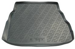 Коврик в багажник L.Locker, для Geely CK sd (09-)FS-80264Коврик L.Locker производится индивидуально для каждой модели автомобиля из современного и экологически чистого материала. Изделие точно повторяют геометрию пола автомобиля, имеет высокий борт, обладает повышенной износоустойчивостью, антискользящими свойствами, лишен резкого запаха и сохраняет свои потребительские свойства в широком диапазоне температур (от -50°С до +80°С).