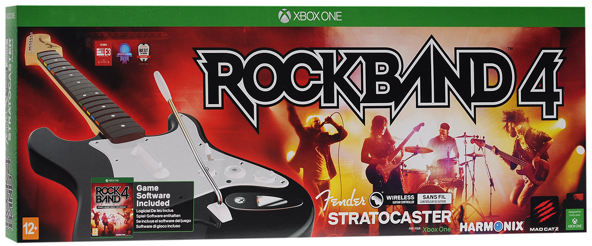 Mad Catz Rock Band 4 Fender Stratocaster Bundle (Xbox One)