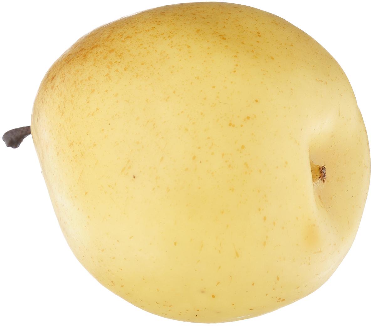 Муляж Груша, цвет: желтый, 9,5 см54 009318Муляж Груша изготовлен из полиуретана, окрашен в естественные цвета. Предназначен для украшения интерьера дома.Высота муляжа: 9,5 см.