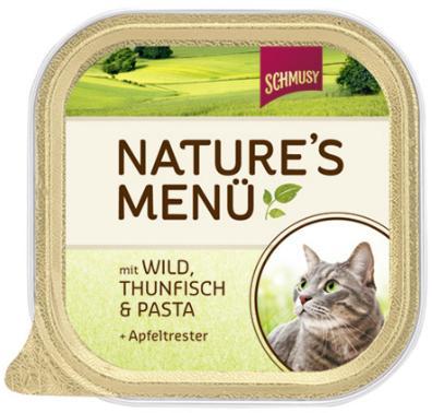 Консервы для кошек Шмуси дичь с тунцом, 100 г0120710Шмуси натура - это полноценная еда для кошек и котов с множеством натуральных ингредиентов. Корм Шмуси богат содержанием отборного мяса, потому что кошки - это настоящие хищники и нуждаются в пище, богатой белками. В этих ванночках маленькие кусочки мяса смешаны с паштетом. Кроме отборного мяса в этот корм добавлен яблочный жмых, который отлично регулирует деятельность желудка и кишечника, как во время игр, так и во время отдыха. Также добавлен таурин для правильного развития организма кошек. Состав: Отборное мясо, дичь, тунец, лёгкие, печень, мясные субпродукты, паста, яблочный жмых, минеральные вещества. Условия хранения: комнатная температура в закрытом виде, после вскрытия до 2 дней в холодильнике. Состав: Отборное мясо, дичь, тунец, лёгкие, печень, мясные субпродукты, паста, яблочный жмых, минеральные вещества.Особенности: Натуральные компоненты; Без сои, красителей, ароматизаторов, костной муки; Без консервантов