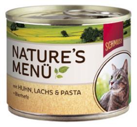 Консервы для кошек Schmusy, с курицей и лососем, 190 г24393Консервы для кошек Schmusy - это полноценная еда с множеством натуральных ингредиентов для кошек и котов. Корм богат содержанием отборного мяса, потому что кошки - это настоящие хищники, они нуждаются в пище, богатой белками. В этих ванночках маленькие кусочки мяса смешаны с паштетом. Кроме отборного мяса в состав входят пивные дрожжи, которые укрепляют имунную систему кошек. Также добавлен таурин для правильного развития организма кошек.Не содержит сои, красителей, ароматизаторов, костной муки, консервантов.Состав: мясо и мясные субпродукты (10% курицы), рыба и рыбные субпродукты (5% лосося), хлебобулочные изделия (3% пасты), минеральные вещества, дрожжи (0,1% пивных дрожжей). Гарантированный анализ: белок - 9%, жир - 5%, клетчатка - 0,5%, зола - 2%, влажность - 81%. Витамины и минералы: витамин D3 - 200 МЕ/кг, витамин E - 20 мг/кг, таурин - 500 мг/кг, медь - 2 мг/кг, марганец - 1,5 мг/кг, цинк - 5 мг/кг.Товар сертифицирован.