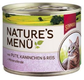 Консервы для кошек Schmusy, с индейкой и кроликом, 190 г24336Консервы для кошек Schmusy - это полноценная еда с множеством натуральных ингредиентов для кошек и котов. Корм богат содержанием отборного мяса, потому что кошки - это настоящие хищники, они нуждаются в пище, богатой белками. В этих ванночках маленькие кусочки мяса смешаны с паштетом. Кроме отборного мяса в корм добавлена природная целебная глина, которая очень полезна для шерсти кошек. Также добавлен таурин для правильного развития организма кошек.Не содержит сои, красителей, ароматизаторов, костной муки, консервантов.Состав: отборное мясо, индейка - 20%, легкое, кролик - 10%, печень, субпродукты, рис - 4%, минеральные вещества. Гарантированный анализ: белок - 10,5%, жир - 5,5%, клетчатка - 0,3%, зола - 2%, влажность - 79%. Витамины и минералы: витамин B1 - 24 мг/кг, витамин B6 - 6 мг/кг, витамин D3 - 180 МЕ/кг, витамин E - 89 мг/кг, фолиевая кислота - 1,5 мг/кг, таурин - 590 мг/кг.Товар сертифицирован.