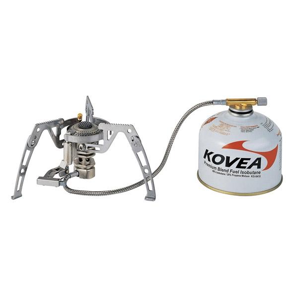 Горелка газовая Kovea Moonwalker Stove Camp-4 KB-0211G-L, со шлангом горелка kovea ткв 8911 1