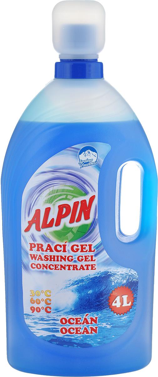 Жидкое средство Alpin  Ocean  для стирки белья, 4 л
