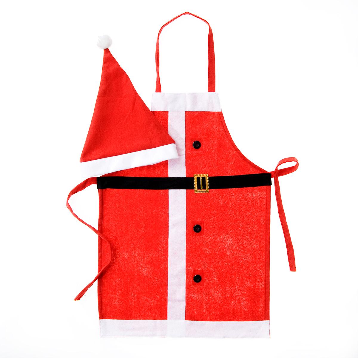 Набор сувенирный для кухни Lunten Ranta  Дед Мороз , 2 предмета. Размер 44-48 - Сервировка праздничного стола