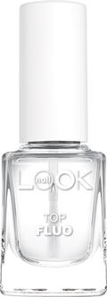 Nail LOOK Флуоресцентное верхнее покрытие, 12 мл31081создает на ногтевой пластине плотную глянцевую пленку· флюоресцирует в дискотечном освещении· обеспечивает мгновенное оптическое отбеливание ногтей