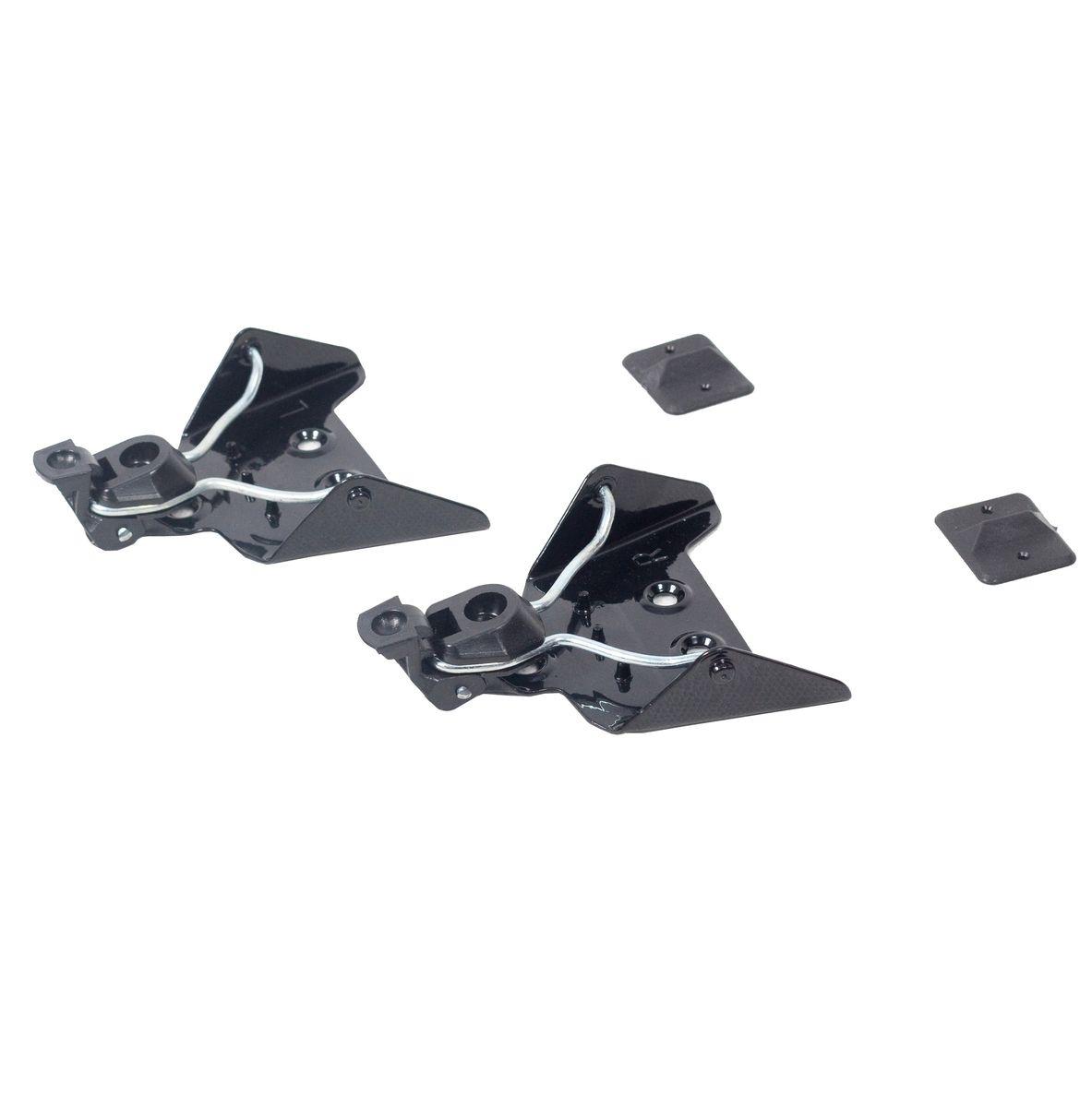 Крепления для беговых лыж Karjala, 75ммS23513Крепления для беговых лыж Karjala предназначены для установки на беговые лыжи с использованием ботинок системы NN-75 mm. Установить крепления несложно. Правильно установленное крепление позволит обеспечить удобство катания. На основание креплений нанесены буквы L - левое, R - правое. В комплекте - инструкция по сборке на русском языке.