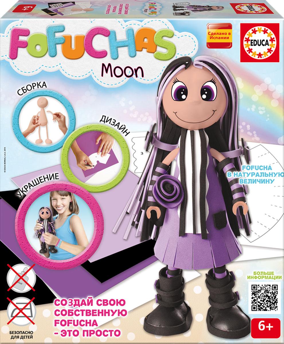 Набор для творчества - детская игрушка в виде куклы в разобранном виде, в комплект входит: сборное пластиковое тело, бумага EVA разных цветов, двухсторонний скотч, схемы, картонные детали, самоклеящиеся глаза и рот, инструкция. Состав: картон, бумага, пластик, этилен винил ацетат, полимерный материал. Игрушка предназначена для детей от 6 лет. Высота куклы 30см