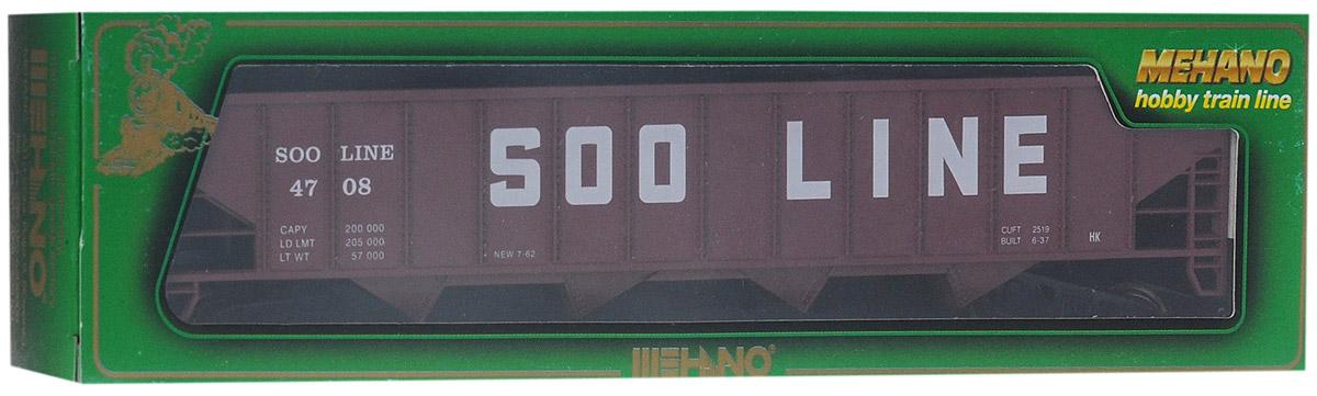 Mehano Саморазгружающийся бункерный грузовой вагон Soo Line
