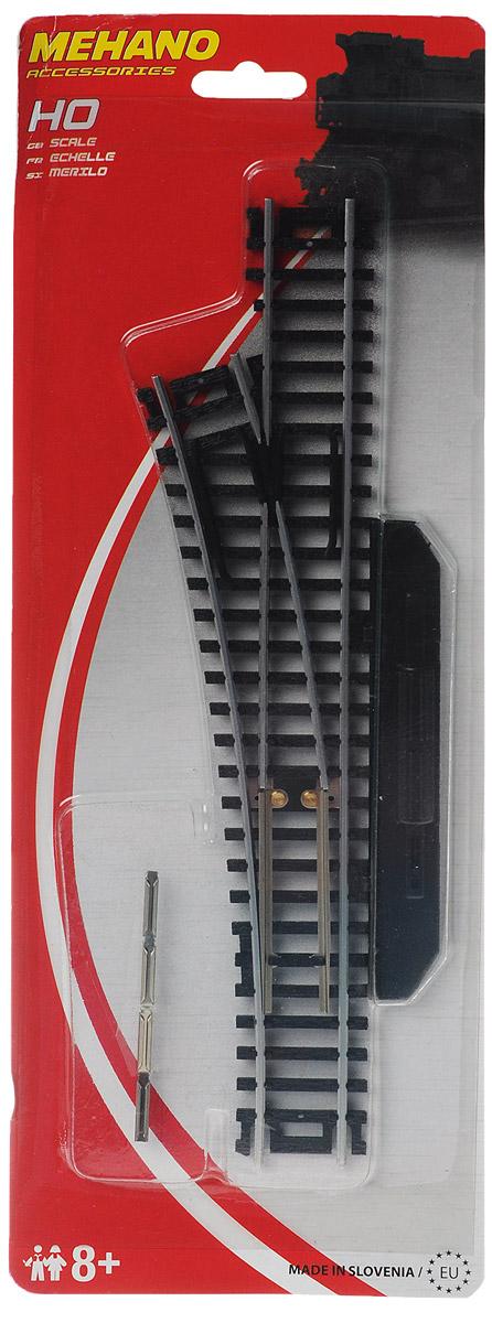 Mehano Стрелка левая механическая mehano адаптер с регулятором скорости и направления для железной дороги
