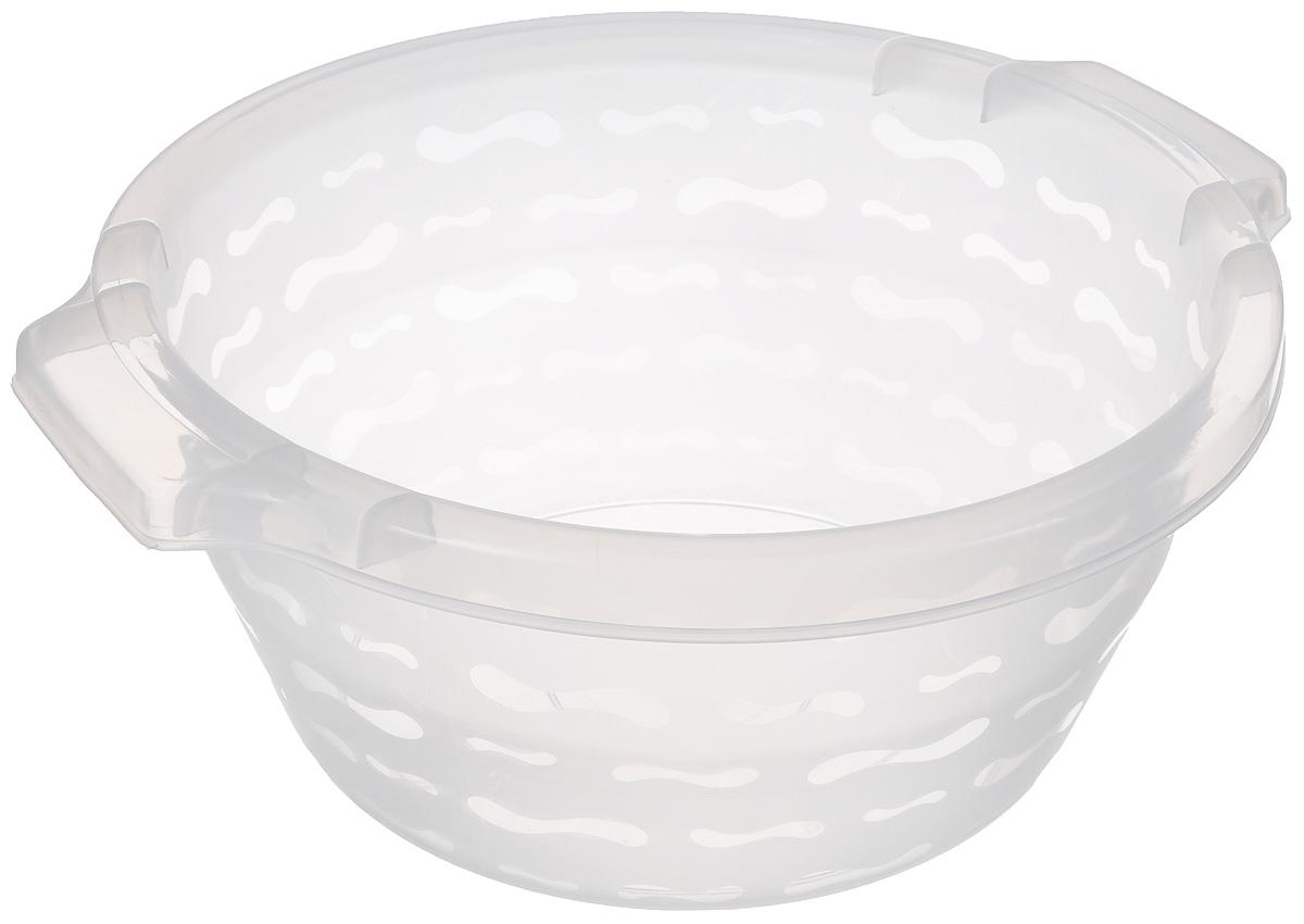 Таз Gensini, цвет: прозрачный, 7 лSVC-300Таз Gensini изготовлен из высококачественного полупрозрачного пластика. Он выполнен в классическом круглом варианте. Для удобного использования таз снабжен двумя ручками. Благодаря легкости и современному дизайну таз Gensini станет незаменимым помощником и отлично впишется в интерьер вашей ванной комнаты.Диаметр (по верхнему краю): 29 см. Высота таза: 14 см.