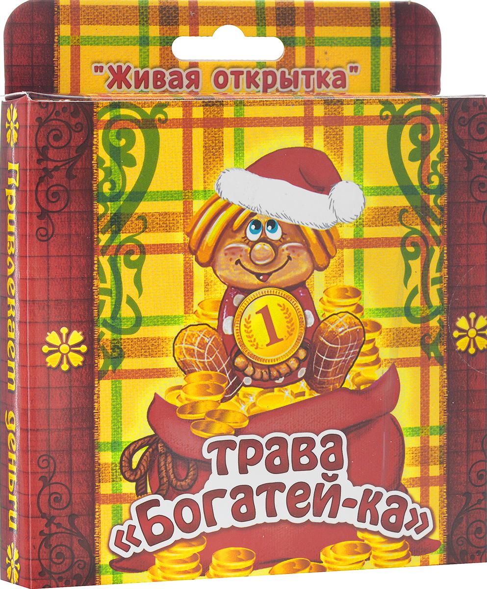Открытка-прорастайка Sima-land Трава-богатейкаPT11-059АВ новогодней суете не забудьте, что подарки должны быть особенными и душевными. Растущая трава в открытке Sima-land Трава-богатейка - это необычный и яркий сувенир, наделенный настоящим духом Нового года.Зелень можно выращивать где угодно, вам не обязательно держать ее на подоконнике или создавать тепличные условия, достаточно теплой обстановки и электрического источника освещения. Посадите семена, поливайте их, и через 3-4 дня из грунта начнут пробиваться маленькие росточки свежей травы.В набор входит:- декоративные фигурки: 3 шт.;- емкость для посадки (10 см х 10 см х 2 см); - грунт для выращивания;- семена;- инструкция по посадке и уходу на русском языке.Средний размер декоративных фигурок: 4 см х 6 см.