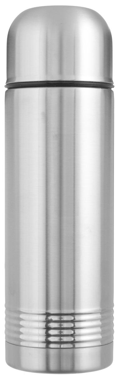 Термос Emsa Senator, цвет: стальной, 700 мл618701600Простая и гармоничная форма термоса Emsa Senator, выполненного из стали, удовлетворит желания любого потребителя. Термос оснащен герметичным клапаном и крышкой, которую можно использовать в качестве стакана, а благодаря системе высококачественной вакуумной изоляции он сохранит ваши напитки горячими или холодными надолго. Диаметр горлышка термоса: 5 см.Диаметр дна термоса: 8 см.Высота термоса (с учетом крышки): 26 см.Сохранение холодной температуры: 24 ч.Сохранение горячей температуры: 12 ч.