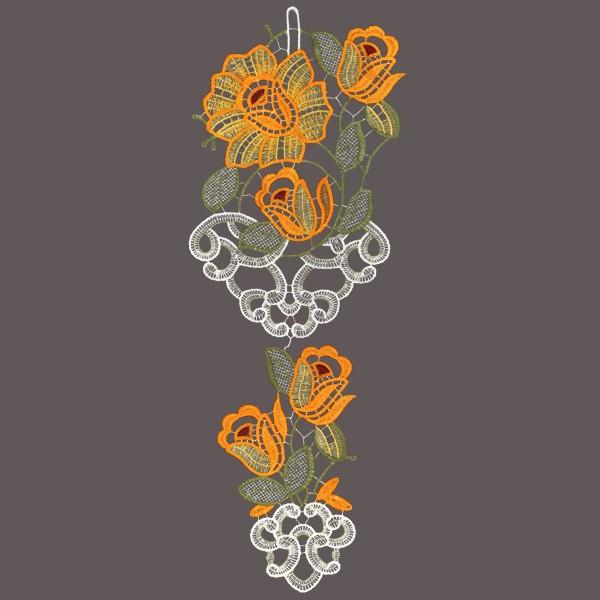 Подвеска на окно Schaefer, 16 х 42 см 06354-389BH-UN0502( R)Оригинальное украшение для Вашего окна Schaefer выполнено из 100 % полиэстера в виде цветочков. Подвеска на окно будет радовать и Вас и прохожих проходящих по Вашей улице. Характеристики: Материал: 100% полиэстер. Размер подвески: 16 см х 42 см. Производитель: Германия.