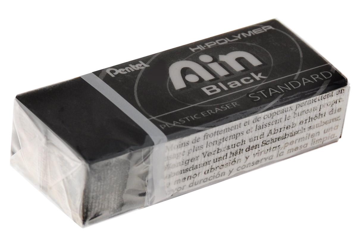 Pentel Ластик Ain Black Eraser цвет черныйPZEAH06AXВысокополимерный ластик Pentel Ain Black Eraser обеспечивает идеальное стирание за счет присутствия в составе микрокапсул специального растворяющего вещества. Идеально стирает следы от грифеля, баркодов, стикеров. Собирают мусор в единую крошку!Ластик не повреждает бумагу при многократном стирании.