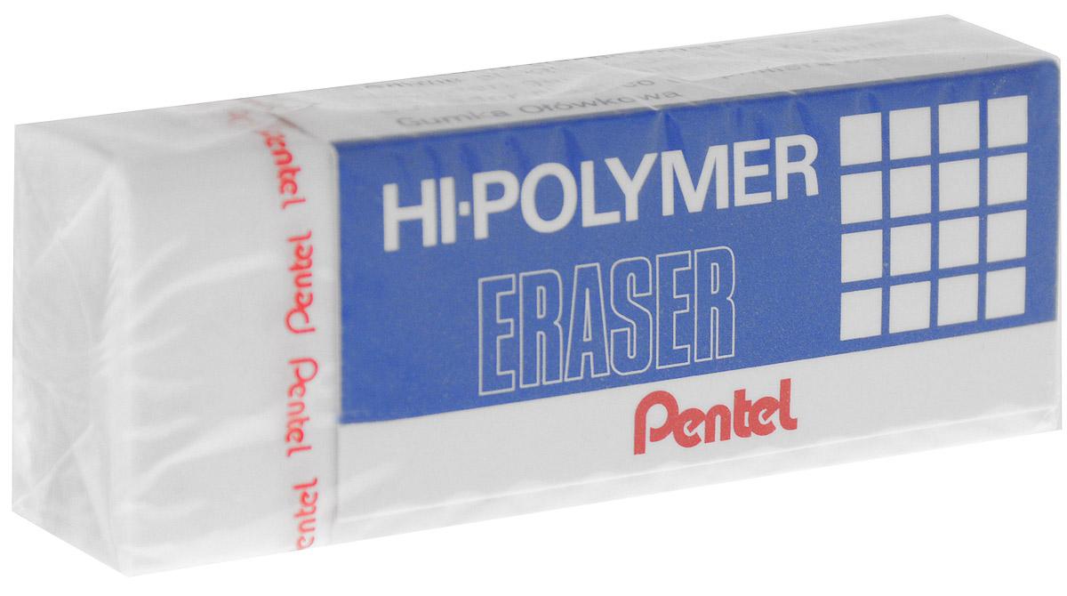 Pentel Ластик Eraser цвет белый730396Высокополимерный ластик Pentel Eraser обеспечивает мягкое и легкое стирание. Он стирает не за счет трения, как обычные каучуковые ластики, а за счет присутствия в составе микрокапсул специального растворяющего вещества. Не повреждают бумагу даже при многократном стирании.