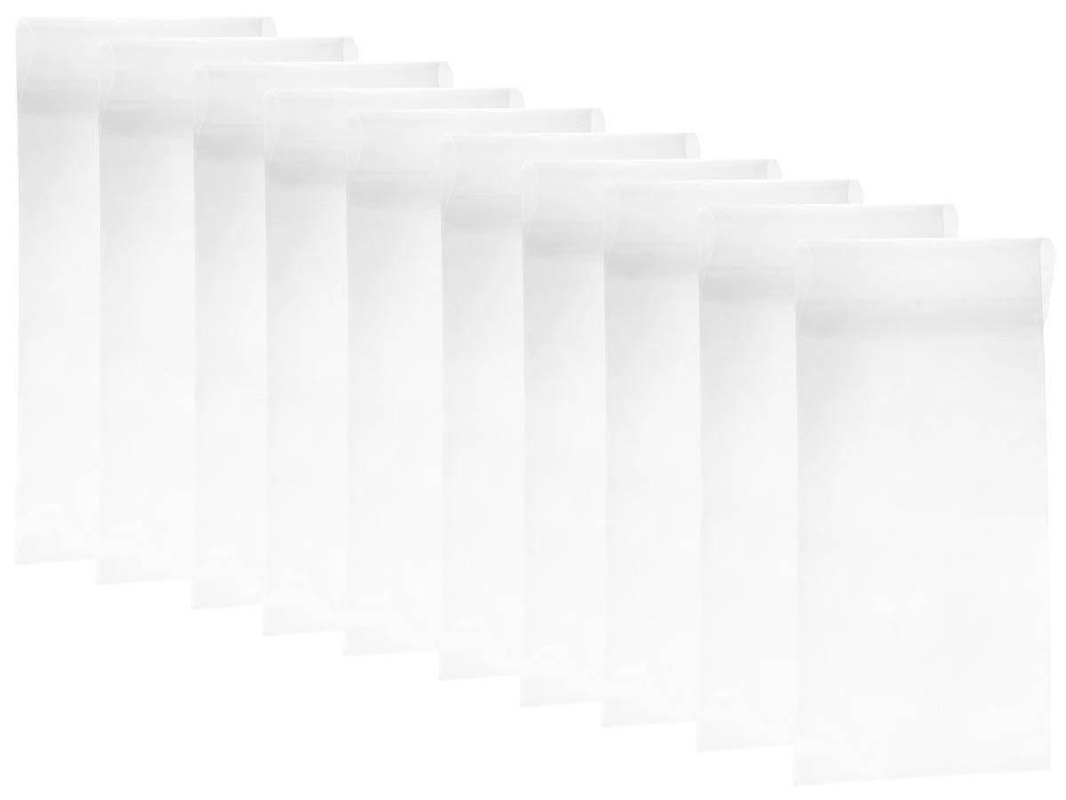 """Набор протекторов """"Ultimate Guard"""" предназначен для защиты и хранения комиксов размером до 18,1 х 26,35 см. Изготовлен из материала высокой прозрачности, без использования кислоты и ПВХ. Также протектор оснащен клапаном 5 см. В комплекте 10 протекторов."""