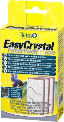 Фильтрующие картриджи для аквариума Tetra Cascade Globe, с углем, 3 шт0120710Набор фильтрующих картриджей с углем созданы специально для аквариумов вида Tetra Cascade Globe. Картриджи устанавливаются во внутренние фильтры модели EasyCrystal Filter С 100, выполняют все существующие виды очистки аквариумной среды. Постоянное использование губок предоставляет пользователю возможность долгое время не менять воду, устранить неприятный запах, уничтожить болезнетворную флору, которая вредит аквариумным обитателям.В наборе 3 картриджа.Размер: 4 см х 8 см х 16 см.