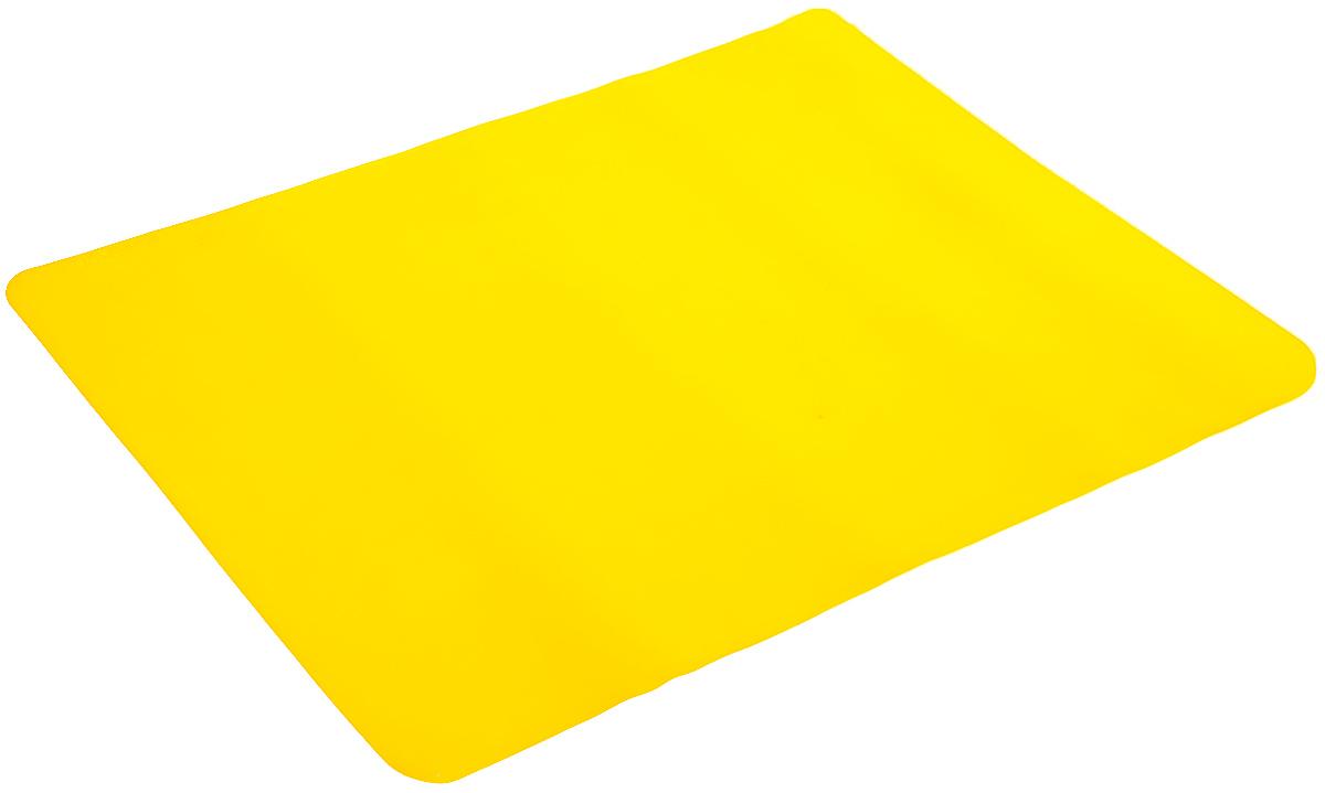 Коврик для выпечки Mayer & Boch, цвет: желтый, 38 х 28 см391602Коврик для выпечки Mayer & Boch, изготовленный из силикона, используется для приготовления любых продуктов (мяса, рыбы, овощей) в духовках, микроволновых печах. Позволяет готовить без масла и жира, выдерживает температуру до 220°С. Коврик применяется в качестве подложки на противень, форму для выпечки, сковороду. Изделие можно использовать и для заморозки продуктов в морозильных камерах, а также для сушки грибов, ягод. Подходит для многоразового использования. Можно мыть в посудомоечной машине.