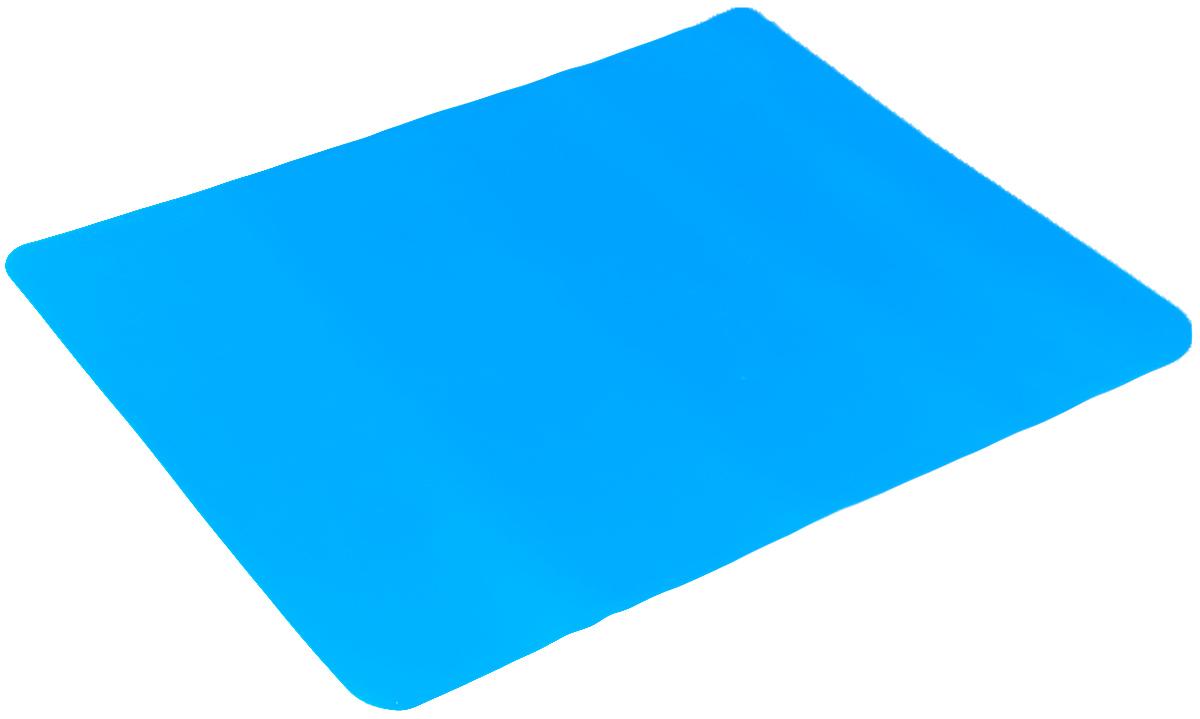 Коврик для выпечки Mayer & Boch, цвет: голубой, 38 см х 28 см40970Коврик для выпечки Mayer & Boch, изготовленный из силикона, используется для приготовления любых продуктов (мяса, рыбы, овощей) в духовках, микроволновых печах. Позволяет готовить без масла и жира, выдерживает температуру до 220°С. Коврик применяется в качестве подложки на противень, форму для выпечки, сковороду. Изделие можно использовать и для заморозки продуктов в морозильных камерах, а также для сушки грибов, ягод. Подходит для многоразового использования. Можно мыть в посудомоечной машине.