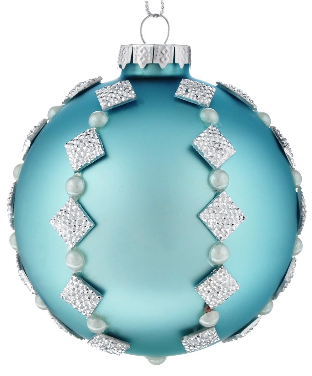Новогоднее подвесное украшение Феникс-презент Морозный день, диаметр 8 см39093Новогоднее подвесное украшение Феникс-презент Морозный день прекрасно подойдет для праздничного декора новогодней ели. Изделие выполнено из высококачественного стекла. Для удобного размещения на елке на украшении предусмотрена петелька.Елочная игрушка - символ Нового года. Она несет в себе волшебство и красоту праздника. Создайте в своем доме атмосферу веселья и радости, украшая новогоднюю елку нарядными игрушками, которые будут из года в год накапливать теплоту воспоминаний. Откройте для себя удивительный мир сказок и грез. Почувствуйте волшебные минуты ожидания праздника, создайте новогоднее настроение вашим дорогим и близким.