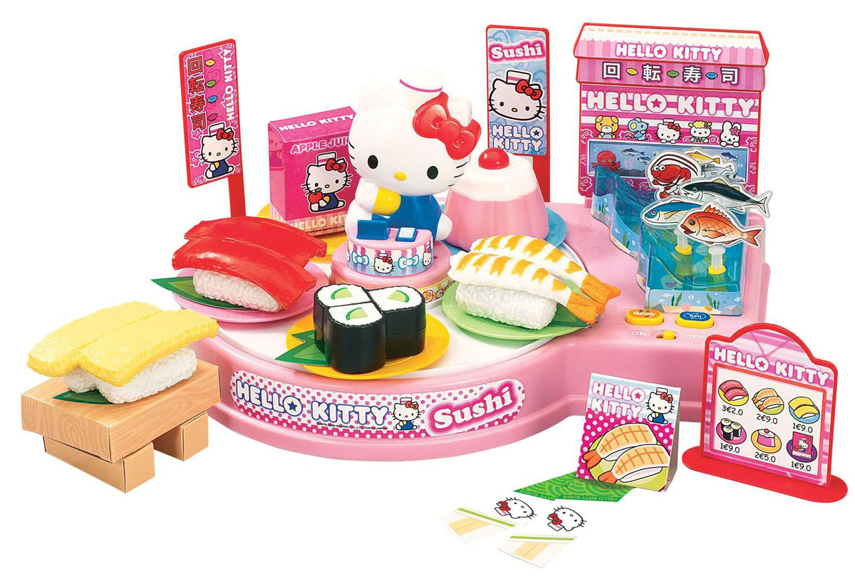 Hello Kitty Игровой набор Суши бар hello kitty игрушки