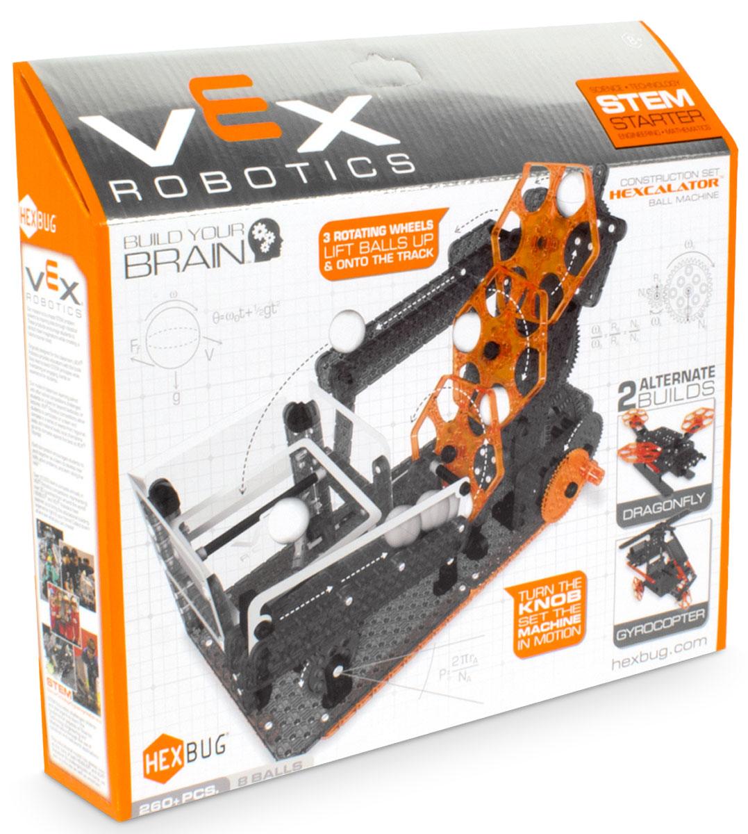 Hexbug Конструктор Vex Hexcalator Ball Machine hexbug конструктор vex crossbow launcher