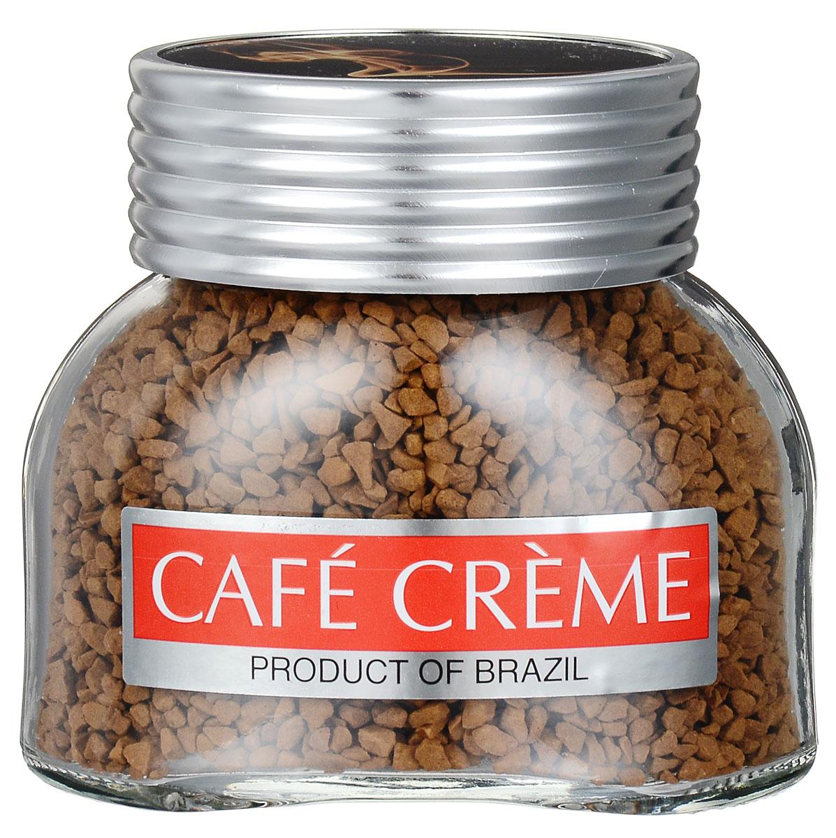Cafe Creme Original кофе растворимый, 50 г4260283250172Cafe Creme Original - растворимый кофе высшего качества. Добавив в этот напиток две чайные ложечки меда и лимонный сок по вкусу, можно приготовить легендарный напиток здоровья и долголетия, укрепляющий иммунитет. Именно его употребляют в течение дня жители Эспирито-Санто, горной местности на юго-востоке Бразилии, где произрастает один из лучших сортов бразильской арабики.
