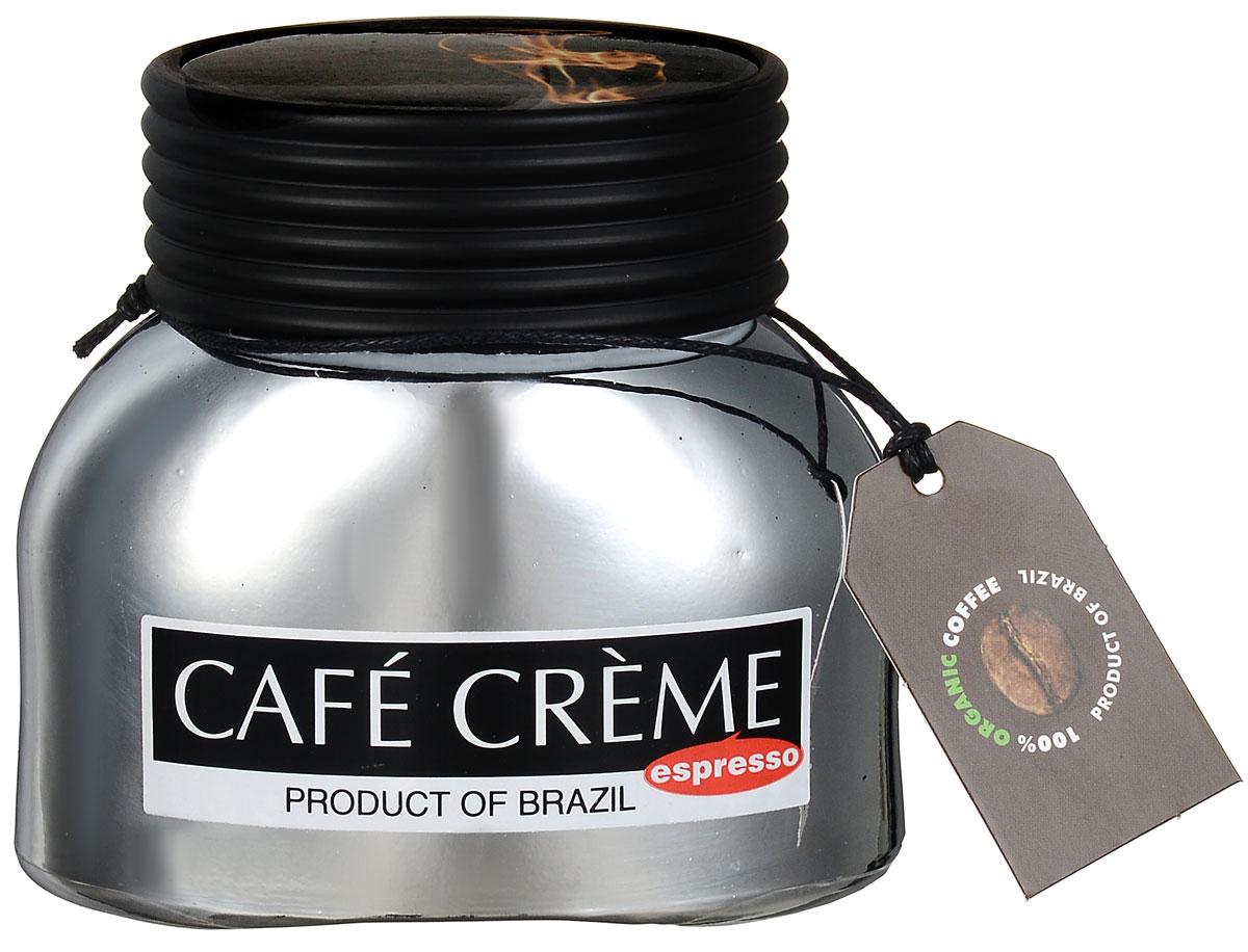 Cafe Creme Еspresso кофе растворимый, 50 г8004715009008Cafe Creme Еspresso - это смесь растворимого и молотого кофе, позволяющая быстро приготовить настоящий эспрессо. Гранулы натуральной арабики смешаны с мелко молотыми кофейными зернами Витории, обжаренными по оригинальному бразильскому рецепту. За несколько секунд вы получите именно тот крепкий и бодрящий эспрессо, который так любят пить по утрам жители солнечной Бразилии!