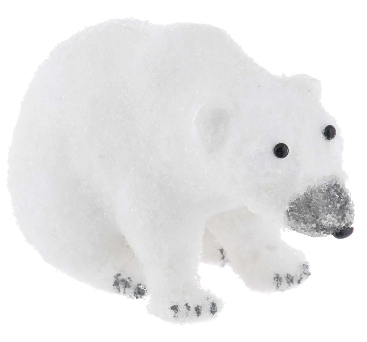 Фигурка декоративная Sima-land Медведь, 23 х 13 х 14 смSL250 503 09Новогодняя декоративная фигурка Sima-land Медведь выполнена в виде медведяиз пенопласта и искусственного волокна, и оформлена пластиковой крошкой.Такая оригинальная фигурка подойдет для оформления новогоднего интерьера и принесет с собой атмосферу радости и веселья, а также станет замечательным подарком для друзей и близких.Материал: пенопласт, искусственное волокно, пластик.