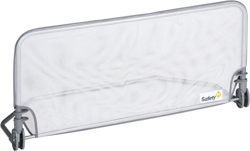 Баръер для детской кроватки Standard Bed rail Safety 1st 90 cm обладает улучшенной устойчивостью и безопасностью без риска падения для малыша, благодаря эксклюзивной системе крепления под матрасом. Удобно складывается. Основные характеристики: •соответствует Европейской норме BS7972 •не подходит для кроватей с бортами (барьер не сможет опускаться) •надежно и безопасно •предотвращает падение малыша во время сна •автоматический фиксатор для установки в вертикальном положении •фиксируется под матрацем, рама по всей длине матраца обеспечивает высокую устойчивость •опускается для прямого доступа к кровати •компактно и быстро складывается, занимает минимум пространства Размеры: (дхвхг) 90х44х8 см Подходит для матрацев толщиной: 9-26 см Гарантия: 12 мес.