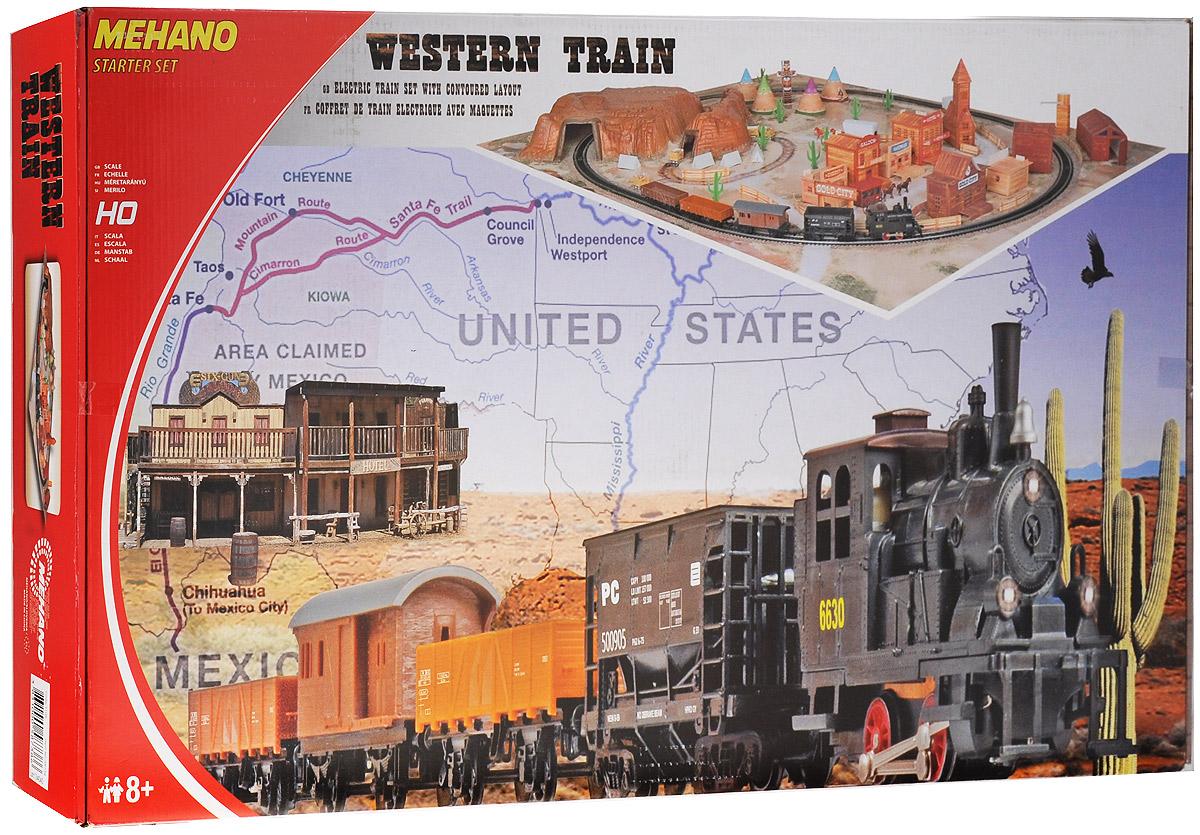 Mehano Железная дорога Western Train с ландшафтом
