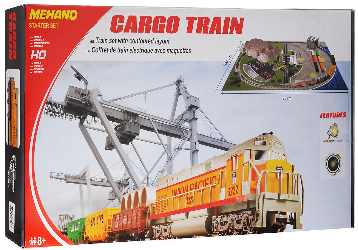Mehano Железная дорога Cargo Train с ландшафтом