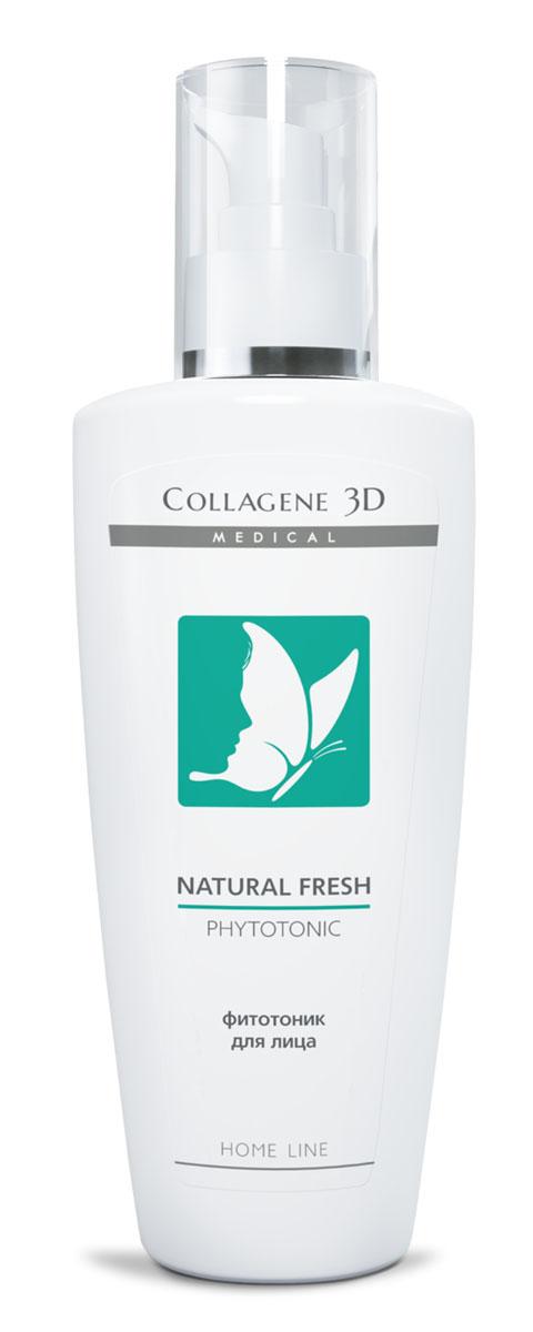 Medical Collagene 3D Фитотоник для лица Natural fresh, 250 млFS-00897Содержащиеся мягкие очищающие вещества, полученные бережно и эффективно удаляют загрязнения, восстанавливают гидролипидную мантию кожи. Обеспечивает здоровый цвет лица и ухоженный внешний вид.