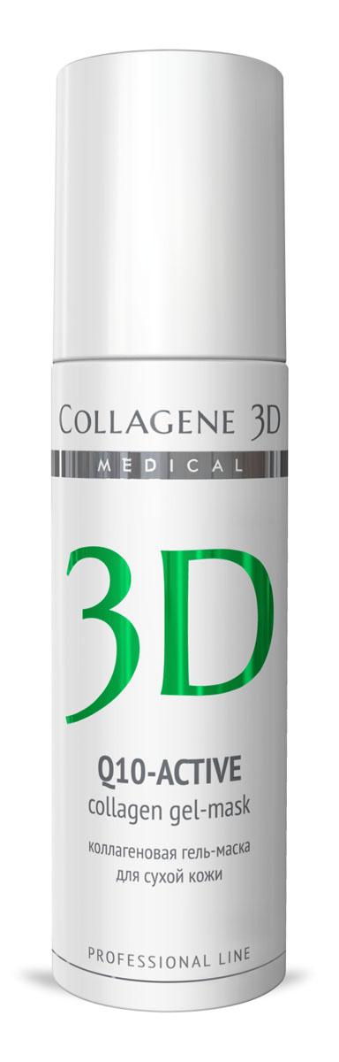 Medical Collagene 3D Гель для лица профессиональныйй Q10-active, 130 млFS-00897Гель-маска подходит для проведения самостоятельной процедуры, а также сочетается с аппаратными методиками. Защищает кожу от сухости и оксидативного стресса,обеспечивает антиоксидантную защиту, стимулирует выработку энергии, препятствует оксидативному стрессу.