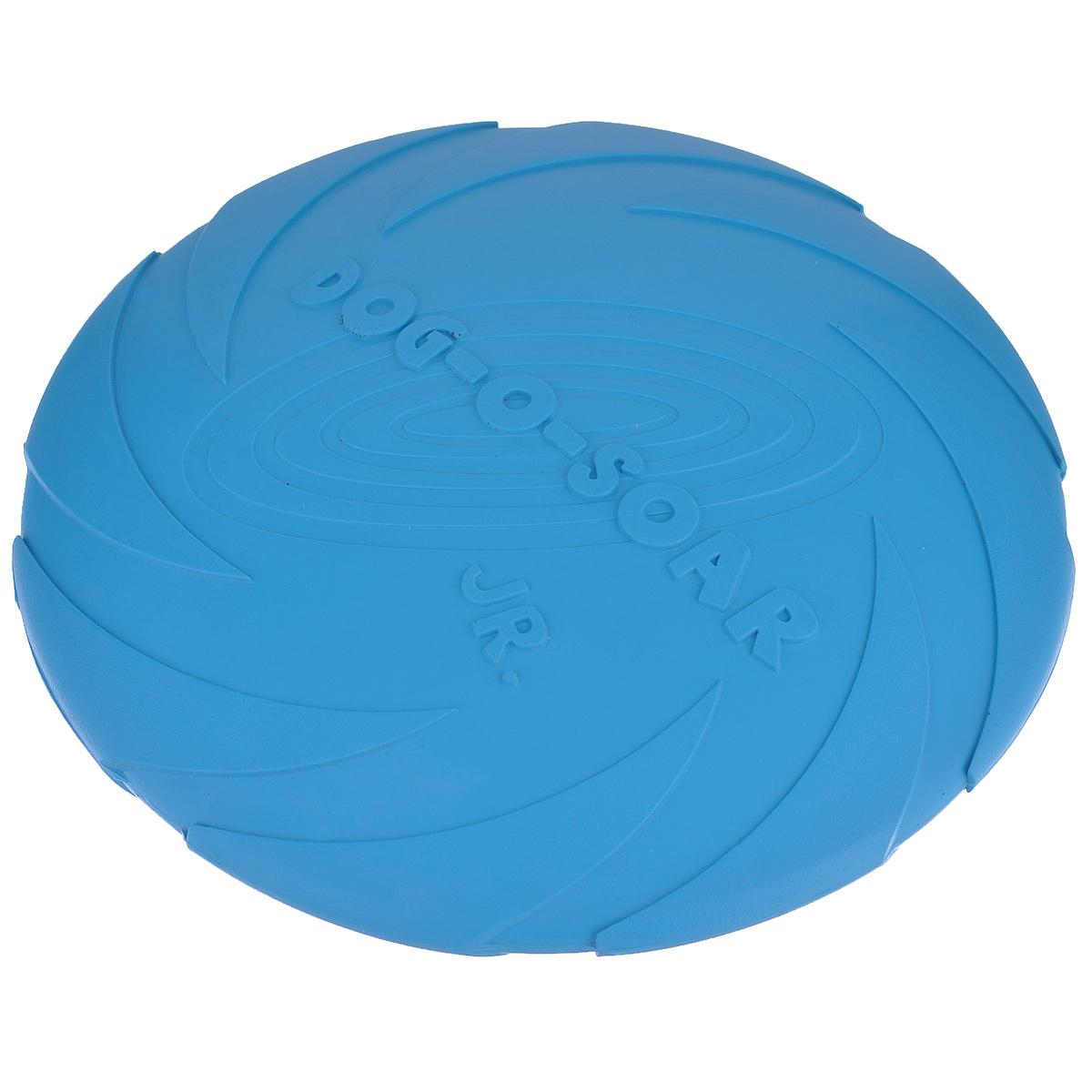 Игрушка для собак I.P.T.S. Фрисби, цвет: голубой, диаметр 18 см16200/625704_голубойИгрушка I.P.T.S. Фрисби, выполненная из резины, отлично подойдет для совместных игр хозяина и собаки. В отличие от пластиковых, такая игрушка не образует острых зазубрин и трещин, способных повредить десны питомца. Совместные игры укрепляют взаимоотношение и понимание.Диаметр: 18 см.