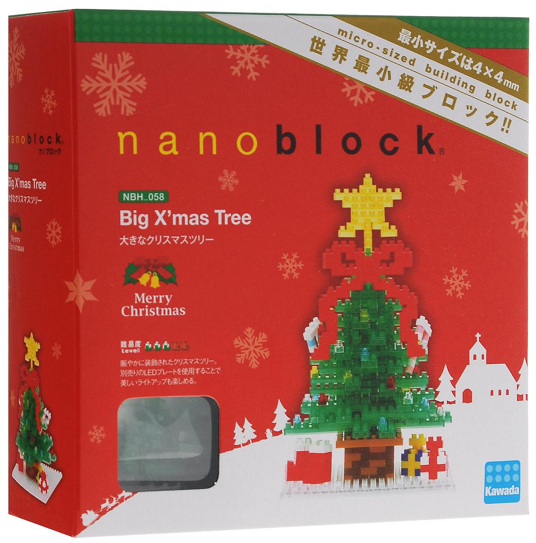 Nanoblock Мини-конструктор Кремлевская Ёлка гаджет fototo nanoblock фотоаппарат конструктор