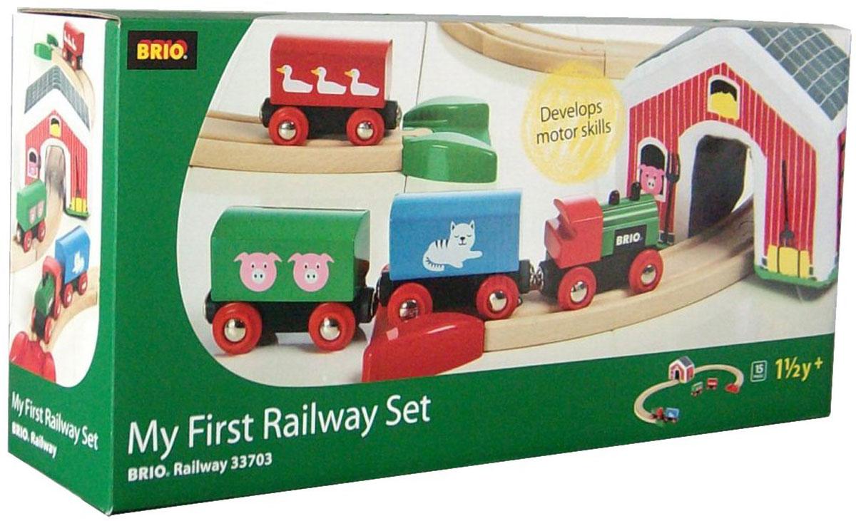 Brio Железная дорога Мой первый паровозик - Железные дороги