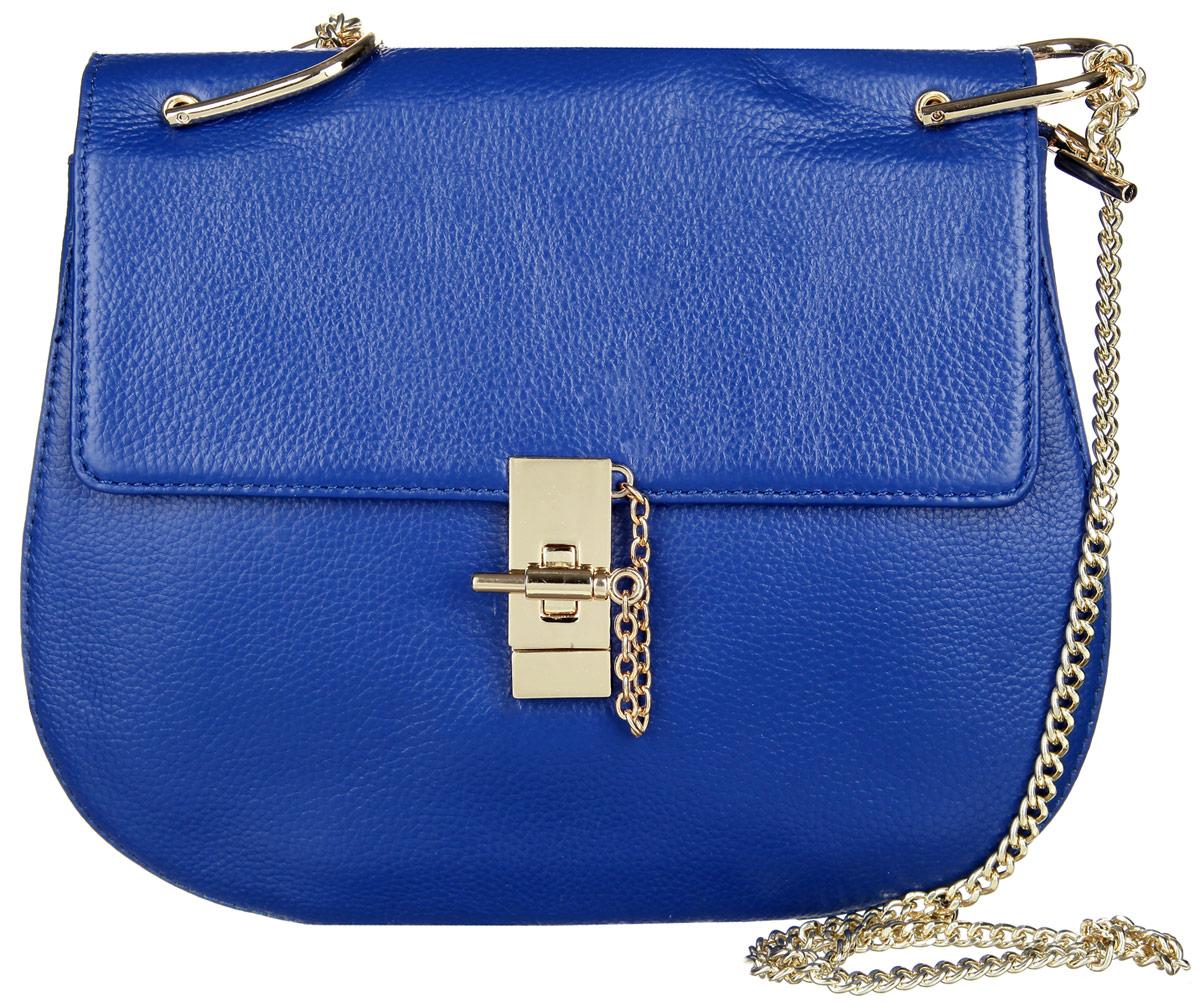 Сумка женская Vitacci, цвет: синий. V092023008Стильная женская сумка Vitacci изготовлена из искусственной кожи с зернистой фактурой. Лицевая сторона изделия оформлена металлической фурнитурой и оригинальным замком-вертушкой.Изделие содержит одно основное отделение, которое закрывается на застежку-молнию, внутри расположены два накладных кармана для мобильного телефона и мелочей и один вшитый карман на молнии и карман-средник на молнии. Сумка оснащена двумя плечевыми ремнями, один из которых выполнен из кожи, а другой выполнен в виде металлической цепочки.Практичная и стильная сумка прекрасно завершит ваш образ.