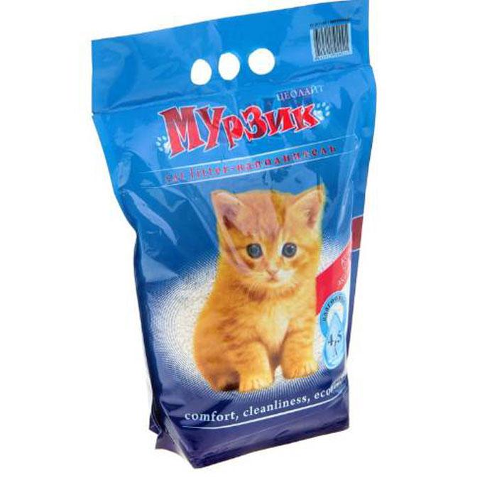 Наполнитель для туалета домашних животных Мурзик-Цеолайт-4,5л0120710Наполнитель для туалета домашних животных Мурзик-Цеолайт-4,5л