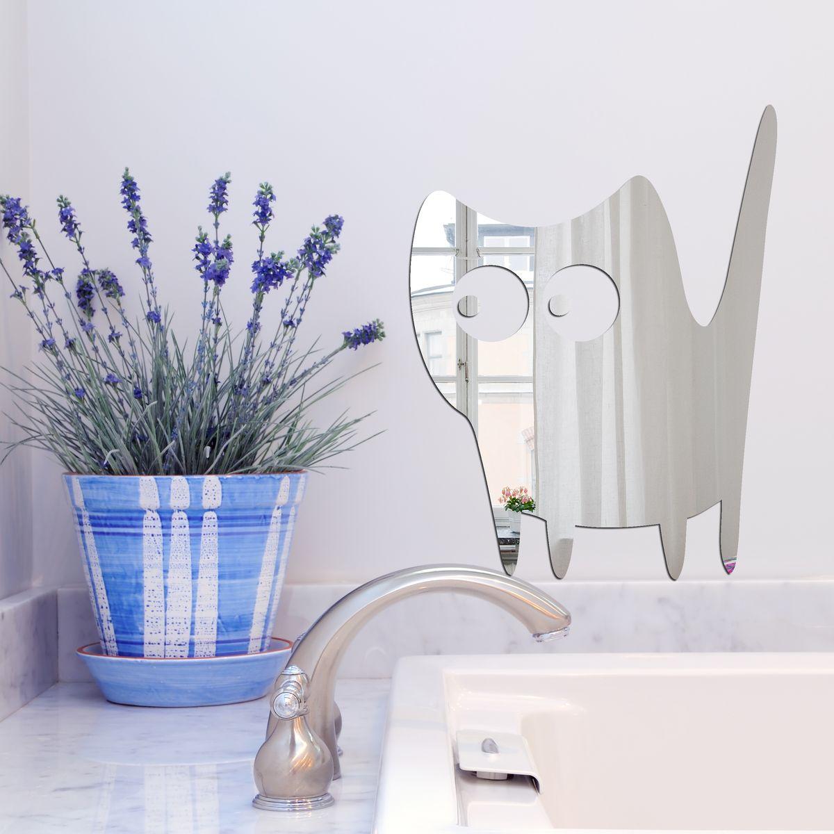 Декоративное зеркало Paris-Paris Мульт кошка, 22 х 29 см11243Фигурное зеркало Paris-Paris - это яркий декоративный объект, по отражающим свойствам не уступающий классическому стеклянному зеркалу. Всегда разные в зависимости от того, где они располагаются, зеркала Paris-Paris каждый раз вступают в новый диалог с интерьером! Зеркало из гибкого органического стекла. Этот легкий и прочный материал по сравнению с обычным стеклом более устойчив к повреждениям и обеспечивает максимальный визуальный эффект. Крепится к стене при помощи специального двустороннего скотча входящего в комплект.Инструкция: Если вы уже выбрали место для вашего зеркала, весь процесс займет 3 минуты. Стена должна быть чистой и сухой. Снимите защитную пленку с клейкой ленты на обратной стороне зеркала; Разместите зеркало на стене; Аккуратно снимите с зеркала защитную пленку.
