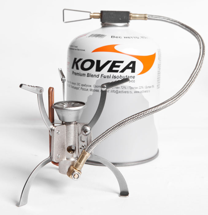 Горелка газовая Kovea Hose Stove Camp-5 KB-1006, со шлангом - Горелки, Обогреватели