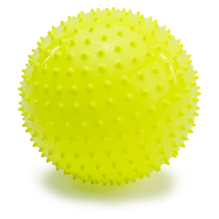 PicnMix Массажно-игровой мяч Геймбол 18 см цвет желтый