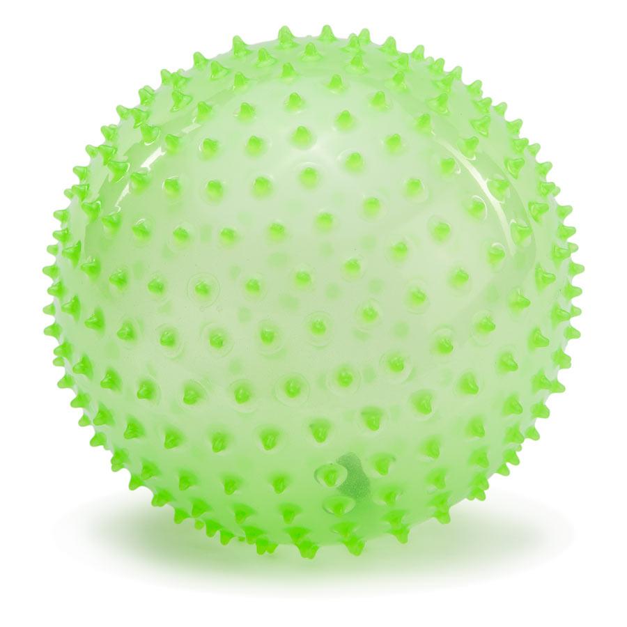 PicnMix Массажно-игровой мяч Геймбол 18 см цвет светящийся