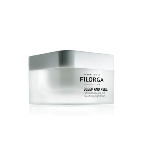 Filorga Ночной разглаживающий крем Sleep and Peel50 млNBPE500TПомимо комплекса NCTF и гиалуроновой кислоты. В состав добавлены полигидроксикислоты с различным молекулярным весом, что обеспечивает эффективную и безопасную эксфолиацию. Азелаиноваыя кислота, инкапсулированная в липосомы, и пирувиновая кислота оказывают тройное воздействие: увлажняют, обеспечивают комедонолитическое и антиоксидантное действие. Пептиды матрикина в сочетании с бурой водорослью активно борются со старением, оказывают успокаивающее и защитное воздействие. Кожа обретает сияние, мягкость и свежесть. Тон становится однородным.Кожа обретает сияние, мягкость и свежесть