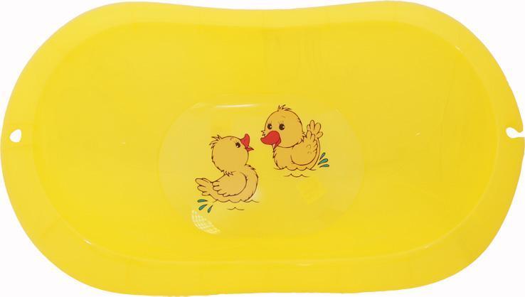 """Ванночка детская """"Лотос"""", желтый прозрачный"""