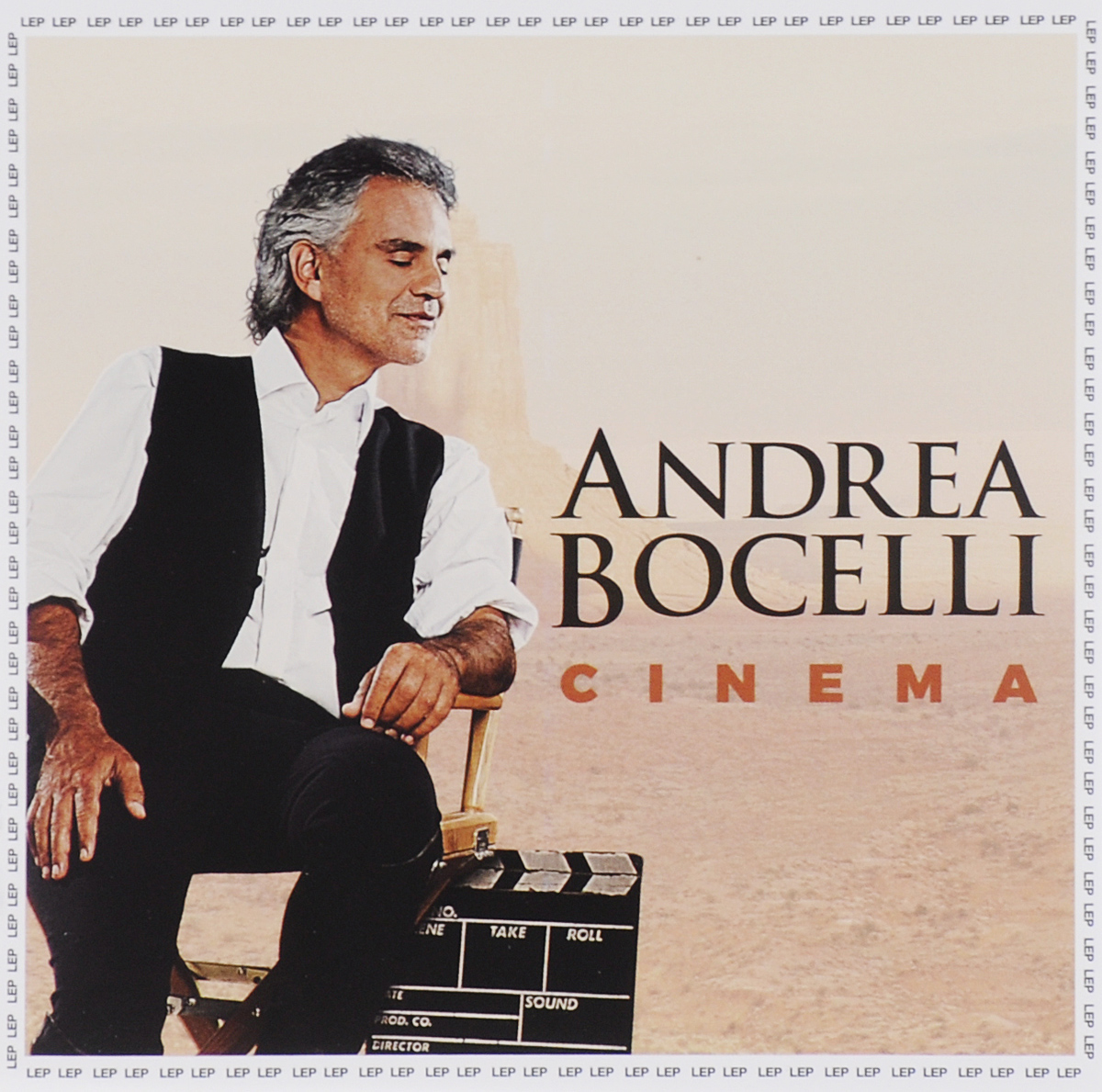 Андреа Бочелли Andrea Bocelli. Cinema андреа бочелли брин терфел марина домашенко дэльфин хэйдан тьерри феликс nouvel orchestre philharmonique de radio france мюнг вун чунг andrea bocelli bizet carmen 2 cd