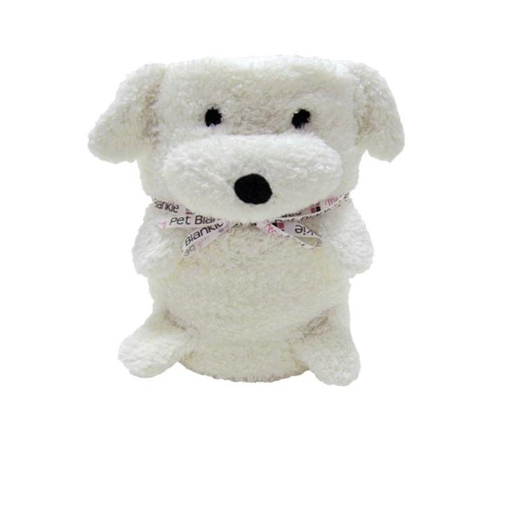 My Pet Blankie Мягкая игрушка - плед - покрывало Собака ЭрниS033010043 в 1 Мягкая игрушка - Плед - ПокрывалоЭкологичный, мягкий и приятный на ощупь материалЛегко стирается (ручная и машинная стирка) Игрушка будет отличным другом в путешествииОтличный подарок на День рождения или праздник